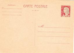M. De Decaris  - Entier Postal (N° 1263-CP1) Carton Chamois Clair (1966) - 1960 Marianne (Decaris)