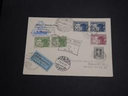 AUTRICHE - Carte Par Avion Wien / Budapest En 1933 , Affranchissement Et Oblitérations Plaisants - A Voir - L 2902 - Briefe U. Dokumente
