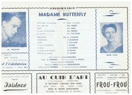 CONSTANTINE    MADAME BUTTERFLY - Théatre & Déguisements