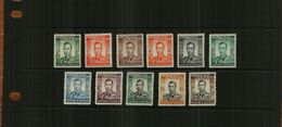 SOUTHERN RHODESIA - KGV1 - 1937- DEFS - 11 Stamps - MM - Stamps