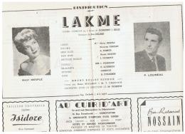 CONSTANTINE      LAKME - Théatre & Déguisements