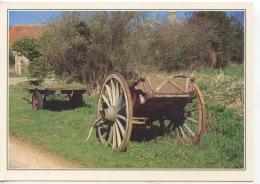 Scène Champêtre (n°1056 Dubray Neuve)  Attelage Plateau Charrette - Farmers