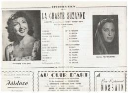CONSTANTINE      LA CHASTE  SUZANNE - Théatre & Déguisements