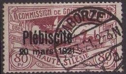 Allemagne- Haute Silésie N° 57 Surcharge Du Pébliciste  (A24) - Schlesien (Ober- Und Nieder-)