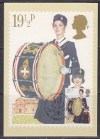 Great Britain 1982 Youth Organisations /  The Boys Brigade 15,5p Value 1v Maxicard (32272) - Maximumkaarten