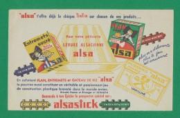 Buvard - Levure ALSACIENNE - ALSASTICK - Buvards, Protège-cahiers Illustrés
