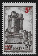N° 491   FRANCE  -  NEUF   -  MINEURS  -  5 F / 10 F    -  1941 - Unused Stamps