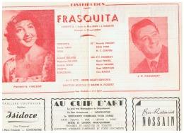 CONSTANTINE      FRASQUITA   1960 - Théatre & Déguisements