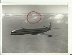 AIRPLANE  -- ORIG. PHOTO  --  COMET III FIRST FLIGHT   --  22 Cm  X 16,5 Cm  -  DESCRIPTION: REVERS SIDE - Aviation