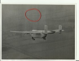 AIRPLANE  -- ORIG. PHOTO  --  ,,  BEVERLEY ,,  TRANSPORT, FIRST FLIGHT --  22 Cm  X 16,5 Cm  -  DESCRIPTION: REVERS SIDE - Aviation