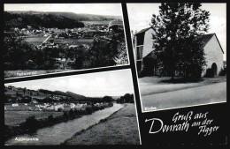 5102 - Alte MBK Ansichtskarte - Gruß Aus Donrath An Der Agger - N. Gel - B. Korr - Koeln