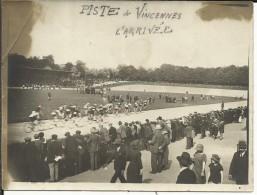 Piste De VINCENNES , L' Arrivée , 1922 , Photo D'une Course - Cycling