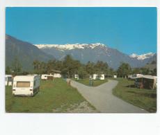 Isère - 38 - Bourg D'oisans Camping De La Cascade Caravane - Bourg-d'Oisans