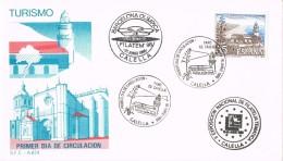 19326. Carta Exposicion CALELLA (Barcelona) 1986. Filatem 86. Turismo - 1981-90 Cartas