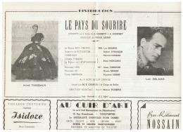 CONSTANTINE      LA PAYS DU SOURIRE    1960 - Théatre & Déguisements