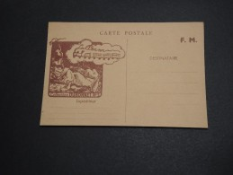 FRANCE - Carte En FM Avec Publicité Dubonnet - A Voir - L 2932 - Marcophilie (Lettres)