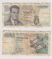 VINGT FRANCS - 15-06-64 - N°  3 Y  2865415 - [ 2] 1831-... : Belgian Kingdom