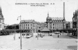 Sarrelouis. Petite Place Du Marché. - Germany