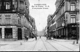 Sarrelouis. Rue De France. - Germany