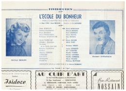 CONSTANTINE      L'ECOLE DU BONHEUR     1960 - Théatre & Déguisements