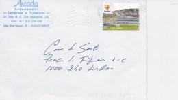 TIMBRES - STAMPS - LETTRE - PORTUGAL - EURO 2004 - STADE FARO / LOULÉ (ALGARVE) - 1910 - ... Repubblica