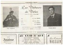 CONSTANTINE      LA  TRAVIATA    1960 - Théatre & Déguisements