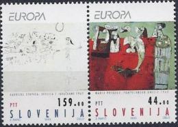 Slowenien/Slovenia 1993 Mi-Nr. 48-49 Europa - Slovénie