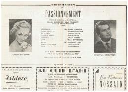 CONSTANTINE      PASSIONNEMENT    1960 - Théatre & Déguisements