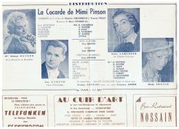 CONSTANTINE      LA COCARDE DE MIMI PINSON     1960 - Théatre & Déguisements