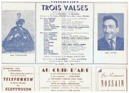 CONSTANTINE       TROIS VALSES - Théatre & Déguisements