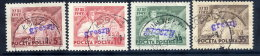 POLAND 1950 Currency Reform Handstamp On Peasant Movement Congress Used.  Michel 642-45 - 1944-.... Republic