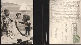 7380) MECKI SOUVENIR DE VACANCES VIAGGIATA 1959 - Mecki