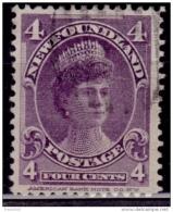 Newfoundland 1897, Duchess Of York, 4c, Scott# 84, Used - Terre-Neuve