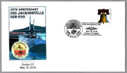 35 Años Submarino Nuclear USS JACKSONVILLE (SSN-699). Groton CT 2016