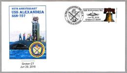 50 Aniv. Submarino USS ALEXANDRIA SSN-757. Groton CT 2016