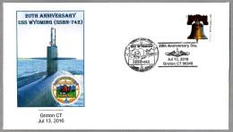 20 Años Submarino USS WYOMING SSBN-742. Groton CT 2016