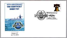 25 Años Submarino USS KENTUCKY SSBN-737. Groton CT 2016