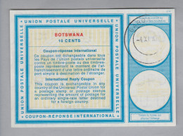 Botswana Ganzsache Coupon Réponse International 1971-11-01 Gabor 10 Cents - Botswana (1966-...)