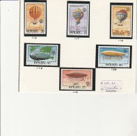 VANUATU - TMBRES N° 676 A 681  - ANNEE 1983
