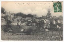 80 - MONTDIDIER - L'Eglise Saint-Pierre Et Le Faubourg Becquerel - Vallée 14 - 1913 - Montdidier