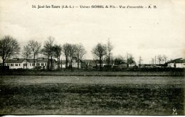N°50365 -cpa Joué Les Tours -usines Gobel & Fils- - Frankreich