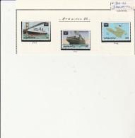 VANUATU - TMBRES N° 740 A 742 - ANNEE 1986