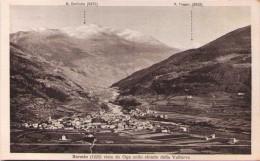BORMIO - Vista Da Oga Collo Sfondo Della Valfurva - Sondrio