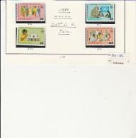 VANUATU - TMBRES N° 751 A 754 - ANNEE 1986 - Vanuatu (1980-...)
