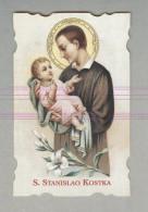 SAN STANISLAO KOSTKA...SANTINO....HOLY CARD - Religione & Esoterismo