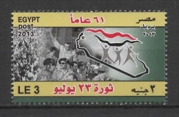 Egypt (2013) Yv. 2134  /  Military - Victoire - Victory - Victoria - Soldier - War - Revolution - Egypte
