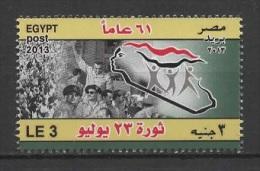 Egypt (2013) Yv. 2134  /  Military - Victoire - Victory - Victoria - Soldier - War - Revolution - Nuovi