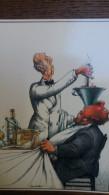 CPM HUMOUR SERRE GLENAT LA TABLE ILLUSTRATEUR ETRE GAVE - Humor