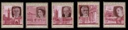 Fujeira (United Arab Emirates), Set Of 5 (1970) British History, Mint Never Hinged - Fujeira