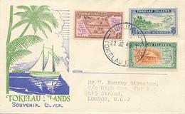NUKUNONU - 1948 , FDC First Issue - Tokelau